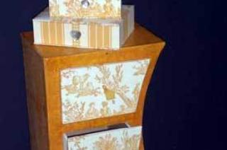 meuble en carton 1m