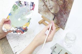 peinture décorative 1m
