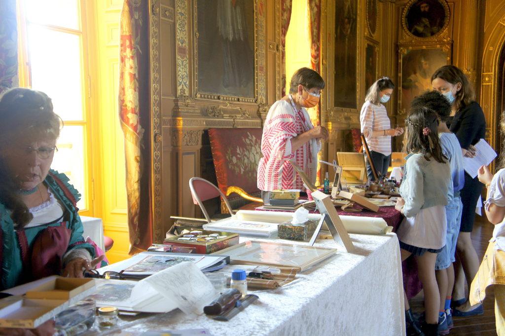 Ateliers de la Cour Roland au château de maintenon